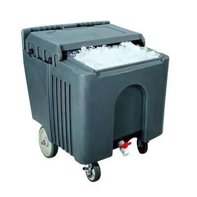 Ice-Caddy, qualité supérieure, 110l, gris foncé