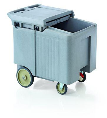Chariot à glace, 60 x 79 x 74 cm, 110 l, gris