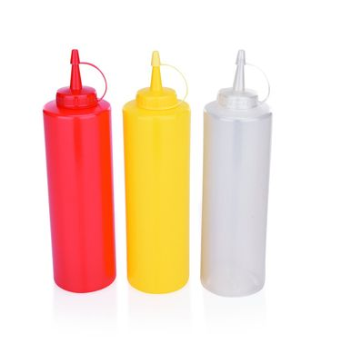 Dosier- / Quetschflasche, 0,70 Liter, weiß
