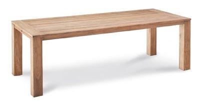 Teak-Tisch Moretti 240x100cm grey-wash