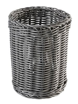 APS Besteckkorb -ECONOMIC- Vertikal, anthrazit, Ø 12 cm, H: 15 cm