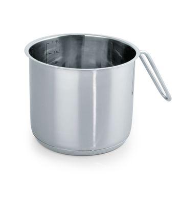 Pot à lait avec marques de graduation, diamètre: 14cm, hauteur 12cm