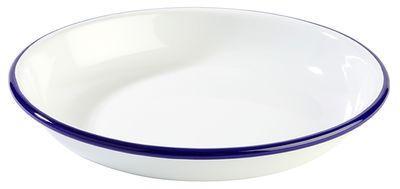 APS Teller, tief -ENAMELWARE-  Ø 18 cm, H: 3,5 cm