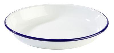 APS Teller, tief -ENAMELWARE-  Ø 24 cm, H: 3,5 cm