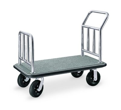 Chariot à bagages / de transport 1100 x 620 x 940 - Argent Gris