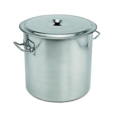 Abfallbehälter mit Deckel, Inhalt: 100 Liter, Höhe: 51,5cm
