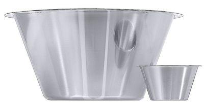 Bol de cuisine 18/10, semi-brillant, diamètre du bord: 12 cm, volume: 0,5 l