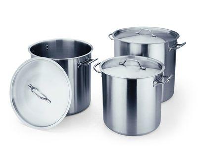 Série d'ustensiles de cuisine COOKWARE 53 - Marmite à soupe avec couvercle Ø : 400 x hauteur : 380 - 47l