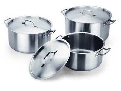 Série d'ustensiles de cuisine COOKWARE 53 - Marmite à soupe avec couvercle Ø : 400 x hauteur : 200 - 25 l