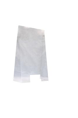 Écran de protection anti-postillons en acrylique 60 x 28cm, H: 99 cm, ouverture: 25 x 12cm
