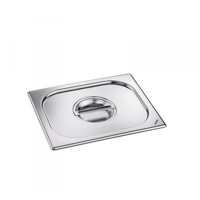 Blanco Edelstahl GN-Deckel GN  1/6 mit Griffmulde für Gastronorm-Behälter mit Bügelgriffen