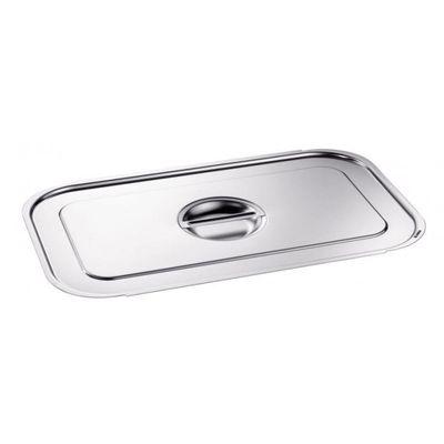 Blanco Edelstahl GN-Deckel GN  1/2 mit Griffmulde für Gastronorm-Behälter mit Bügelgriffen