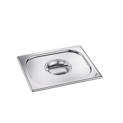Blanco Edelstahl GN-Deckel GN  2/3 mit Griffmulde für Gastronorm-Behälter mit Bügelgriffen