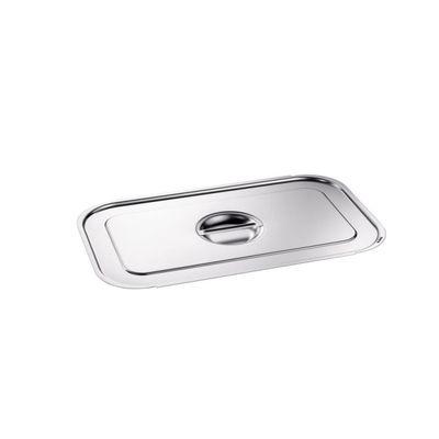 Blanco Edelstahl GN-Deckel GN  1/1 mit Griffmulde für Gastronorm-Behälter mit Bügelgriffen