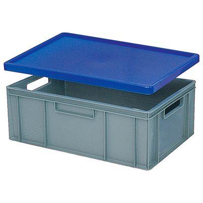 Stülpdeckel für Euro-Stapelbehälter -  blau