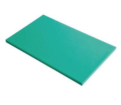 Planche à découper en polyéthylène haute densité Gastro M  verte