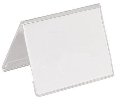 Support en acrylique 10,5 x 8 cm pour cartes au format DIN A7