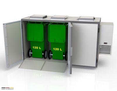 Refroidisseur de déchets Hefa 3x120L