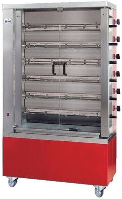 Vertikaler Hähnchengrill ECO 6 - mit Erdgas