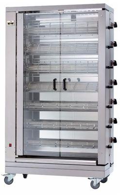Vertikaler Hähnchengrill ECO 7 - mit Erdgas