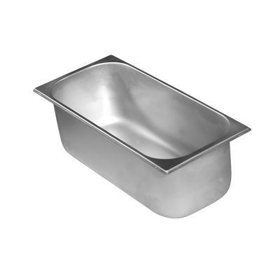 Eisbehälter aus Edelstahl - 360x165x80mm - 3,6l