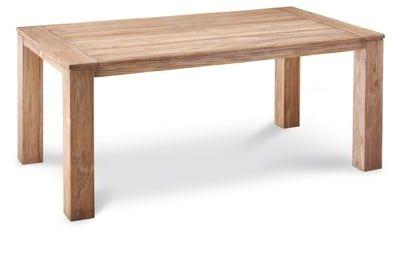Teak-Tisch Moretti 180x100cm grey-wash
