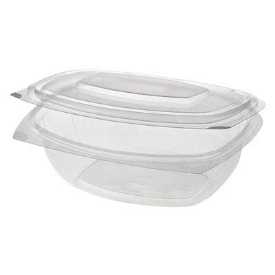 Papstar  Pure  Feinkost- und Salatschale mit Klappdeckel - S ; PLA - 50 Stück - 375 ml