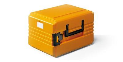 Rieber Thermobox 33 Liter Frontlader, orange