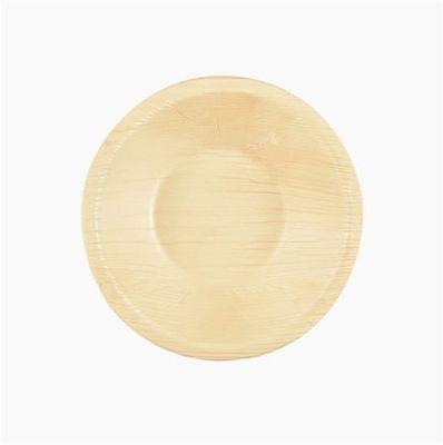 Bol Papstar Pure ; rond ; feuille de palmier - 25 pièces - 200 ml