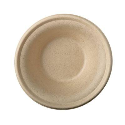 """50 bols Papstar, """"pure"""" canne à sucre, 380 ml, Ø 15,5 cm x hauteur : 4,6 cm, naturel"""