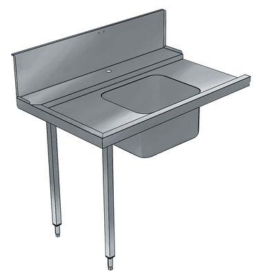 Table d'écoulement d'entrée Electrolux 800 gauche avec évier