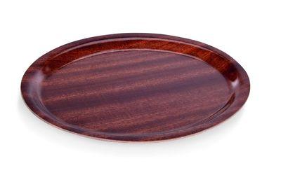 Plateau à café ovale, 29cm x 21cm
