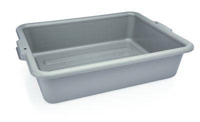 Panier à vaisselle en polypropylène gris