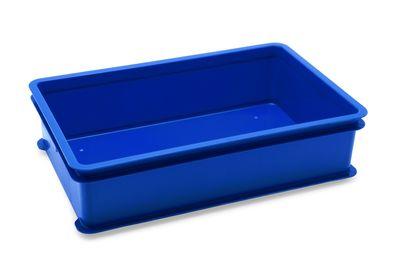 Boîte à boules de pâte / boîte d'empilage pour pâtes, bleue