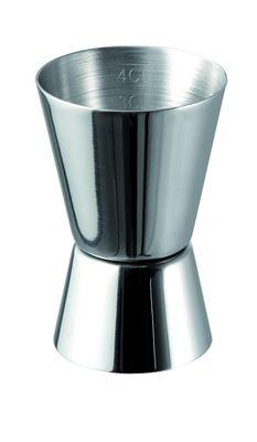 APS Cocktail-Doppelmaß Ø 4,5 / 4 cm H: 7 cm