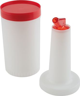 Flacon de dosage et d'approvisionnement APS, orange, Ø 9 cm, hauteur : 33 cm, 1 l
