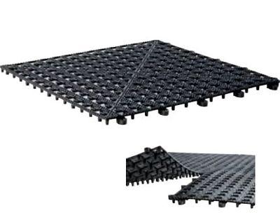 APS Abtropfmatte 330x330 - Schwarz