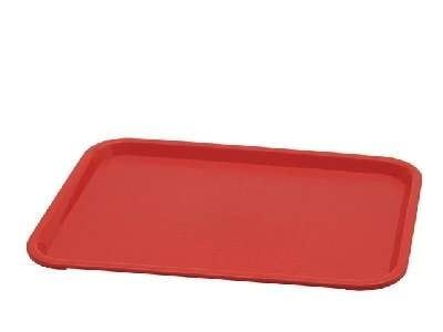 Plateau PP 35,3 x 27,5 cm, rouge