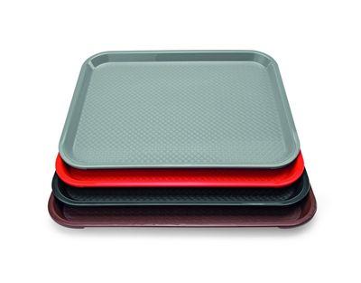 Plateau PP 41,4 x 30,4 cm, rouge