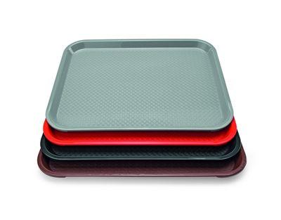 Tablett PP 45,3x35,5cm, braun