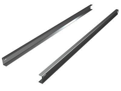 Paire de rails pour les tables réfrigérées négatives Profi : TKT-Premium