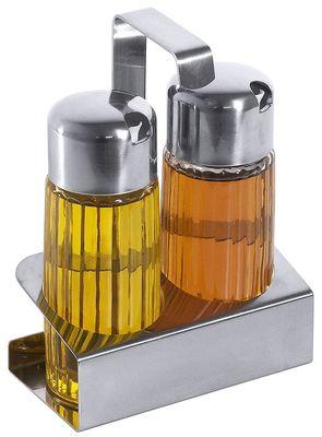 Ménagère 2pièces huile/vinaigre 12x6x16cm