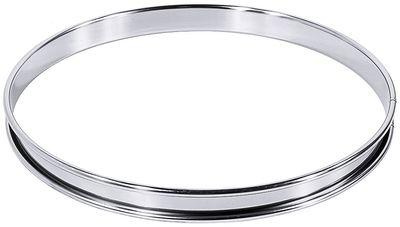 Tortenring, hochglänzend, Durchmesser: 24cm, Höhe 2cm