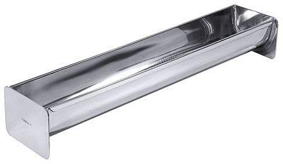 Terrinen- /Kuchenform ''Dachrinne'', hochglänzend, Länge 50 cm