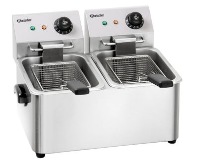 Bartscher Friteuse Snack II, 2x4L, AT