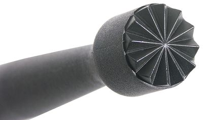 Caipirinha-Stössel, Länge 22.5cm, sternförmig gezahnt