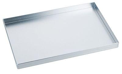Backblech, Aluminium, gebeizt, LxBxH 30x20x2.5cm