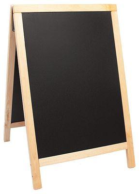 Doppeltafel 85 cm, natur, Fläche: 47,5 cm x 67 cm