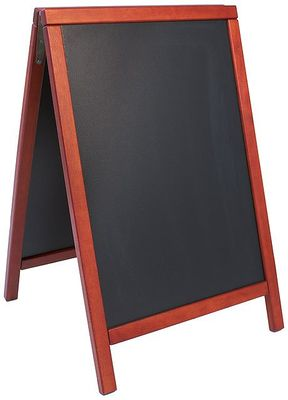 Doppeltafel  85 cm, mahagoni, Fläche:  47,5 cm x 67 cm