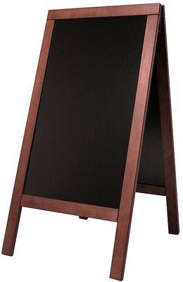 Doppeltafel 140 cm, mahagoni, Fläche: 58 cm x 100 cm
